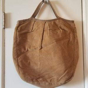 H&m corduroy tote bag